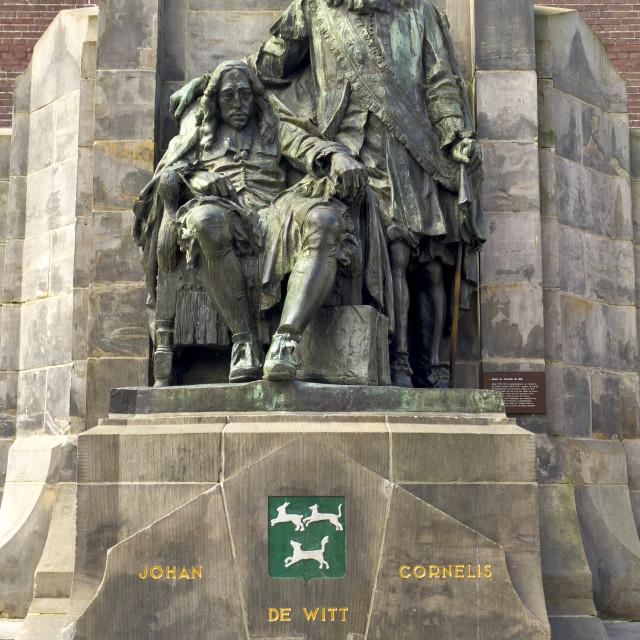 """""""Johan and Cornelis"""" stock image"""