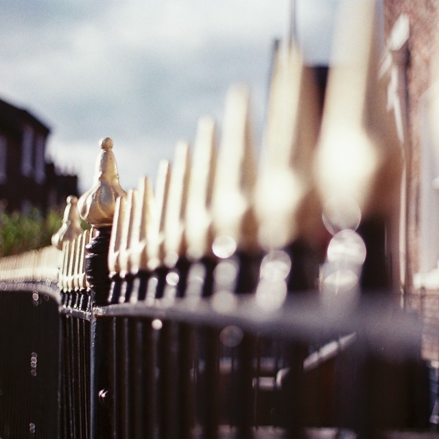 """Railings"" stock image"