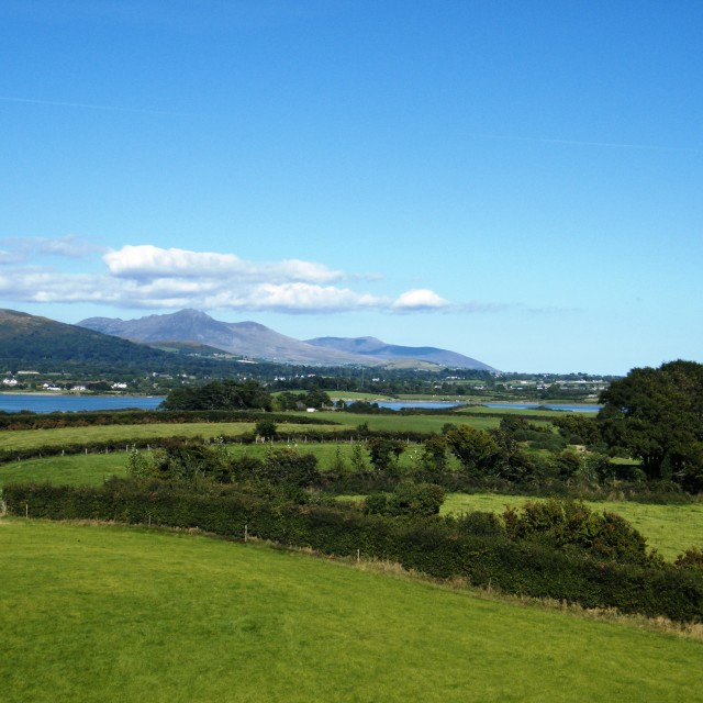 """Mourne Mountains"" stock image"