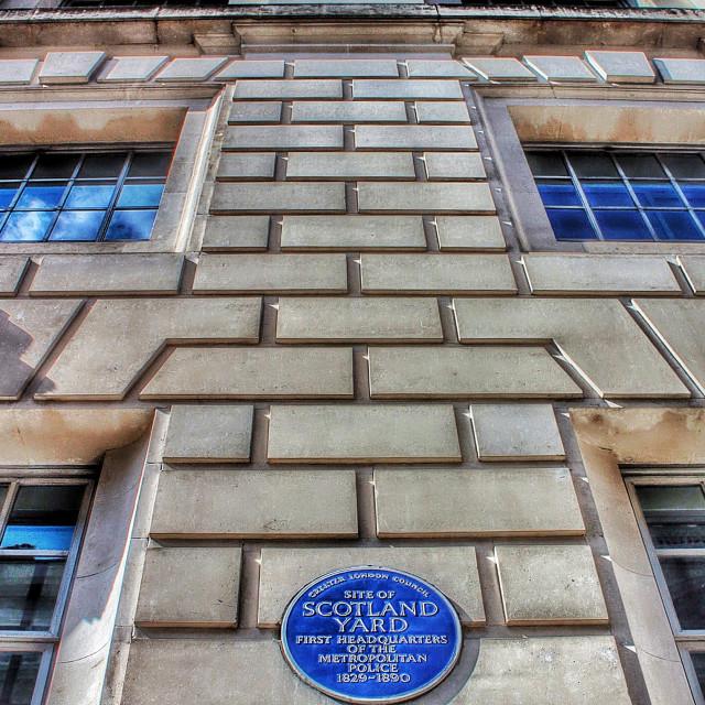 """Scotland Yard"" stock image"