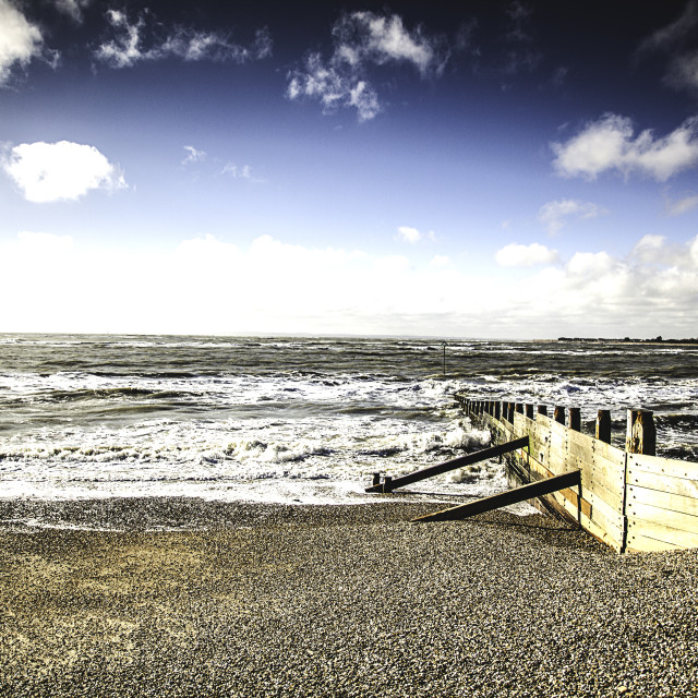 """West Wittering"" stock image"