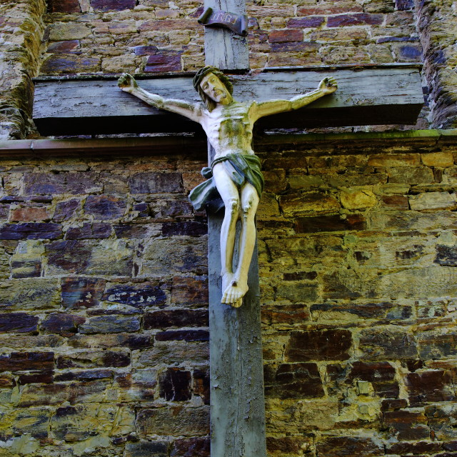 """Crucifixion #1"" stock image"