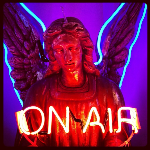 """On Air Angel"" stock image"