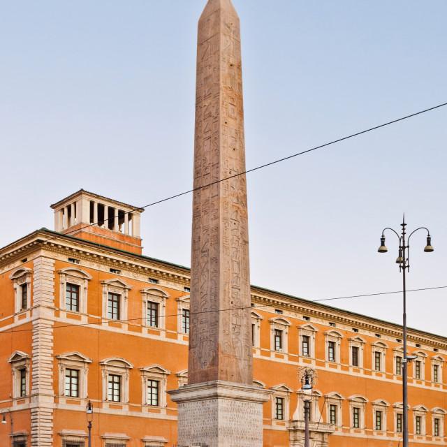 """""""Lateran Obelisk in Rome"""" stock image"""