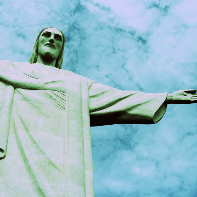 """Christ the Redeemer 2"" stock image"