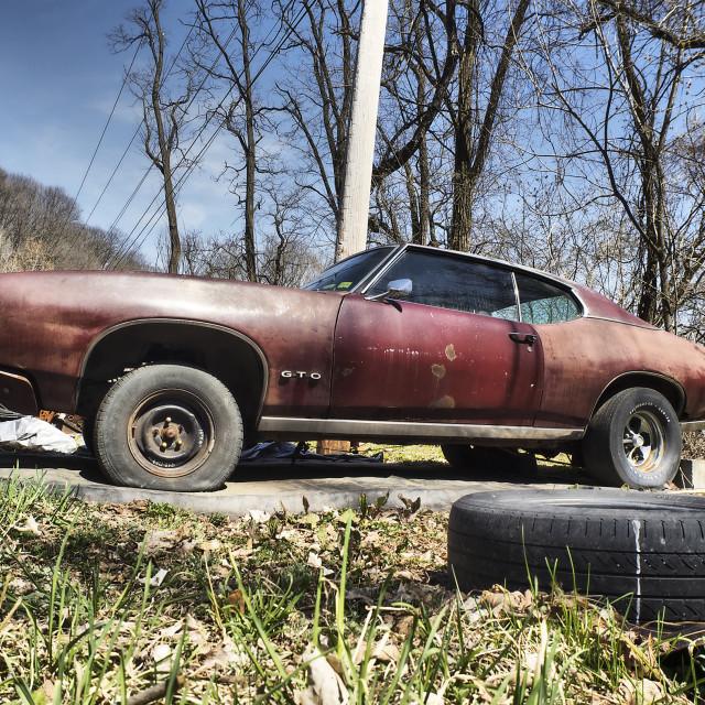 """""""Pontiac GTO"""" stock image"""