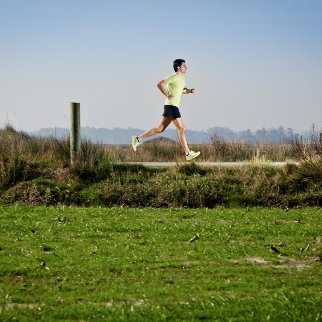 """""""Running"""" stock image"""