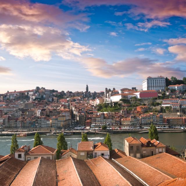 """Old city Porto"" stock image"