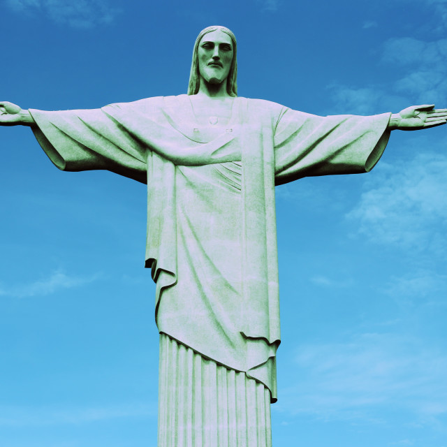 """Christ the Redeemer 3"" stock image"