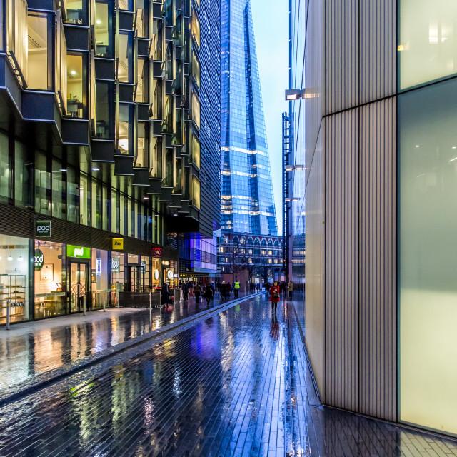 """The Shard, London"" stock image"
