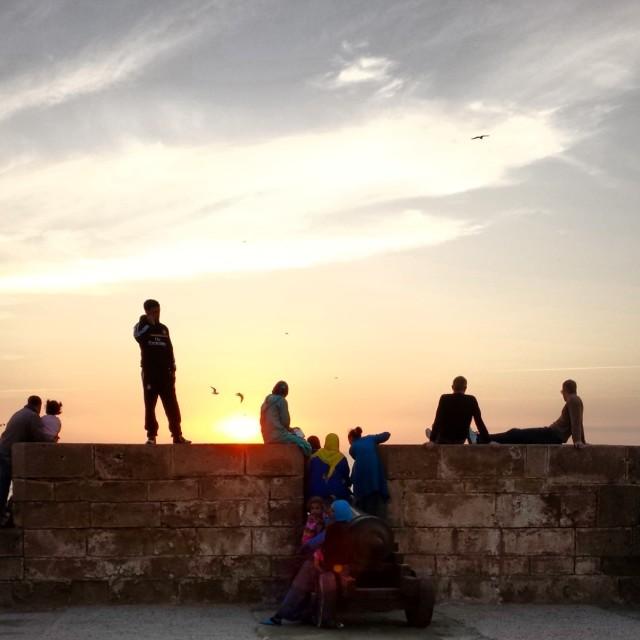 """Essaouira sunset"" stock image"