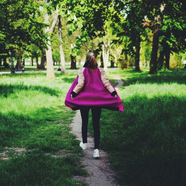 """""""Walk in the park"""" stock image"""