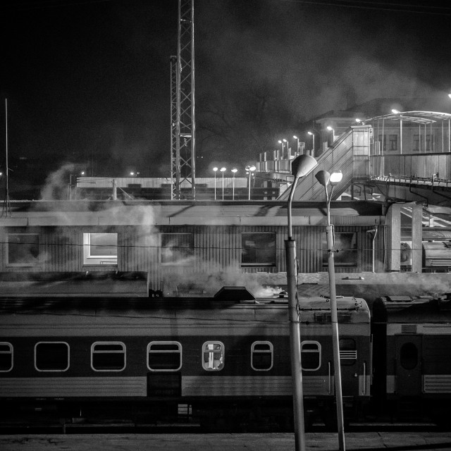 """Trainyard"" stock image"