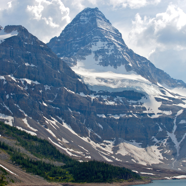 """Mount Assiniboine"" stock image"