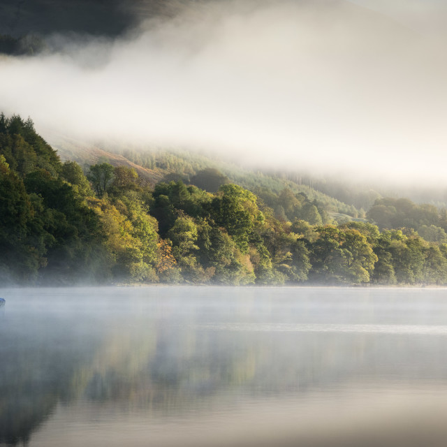 """Loch Voil, Morning"" stock image"