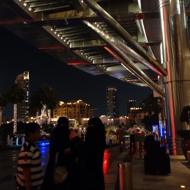 """Address Downtown, Dubai"" stock image"