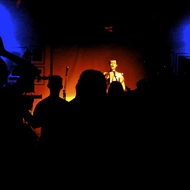 """Will Heard performing @ Proud, Camden"" stock image"