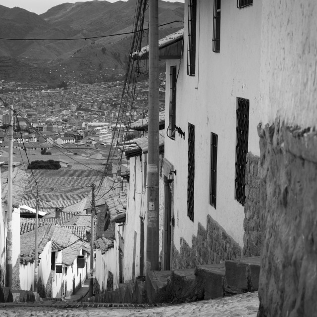 """Cusco Calle"" stock image"