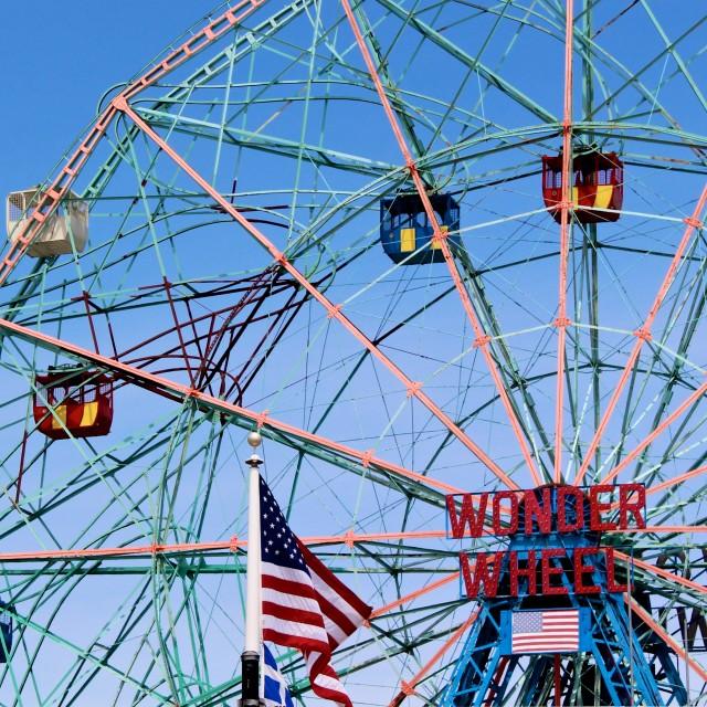 """""""Wonder Wheel"""" stock image"""