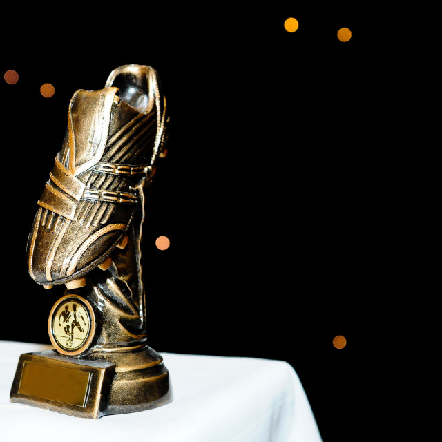 """Golden Boot"" stock image"