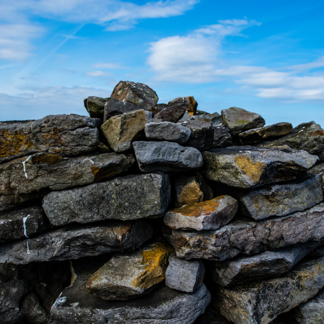 """Dry Stone Detail"" stock image"