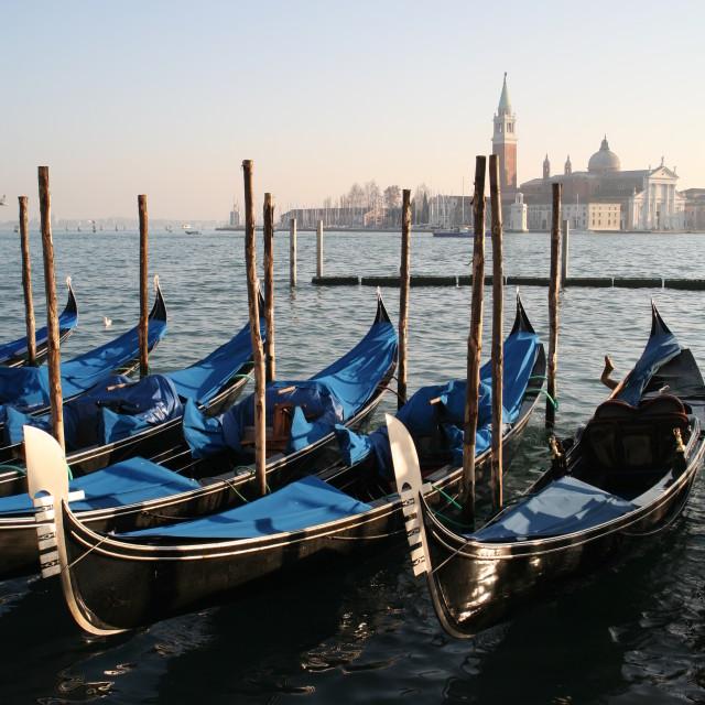 """""""'Gondola Gondola'"""" stock image"""