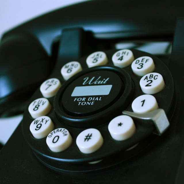 """""""Old Phone"""" stock image"""
