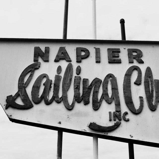 """Napier Sailing Club"" stock image"