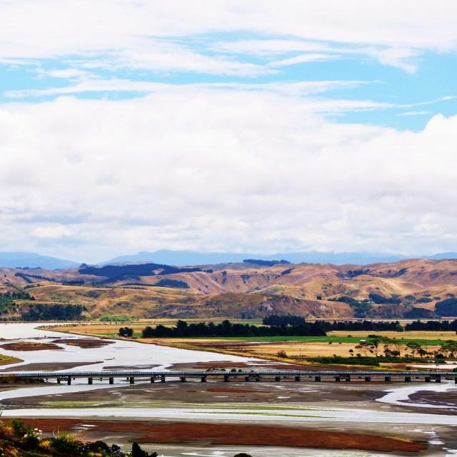 """Ahuriri Estuary"" stock image"