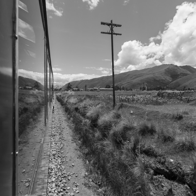 """Altiplano Train"" stock image"