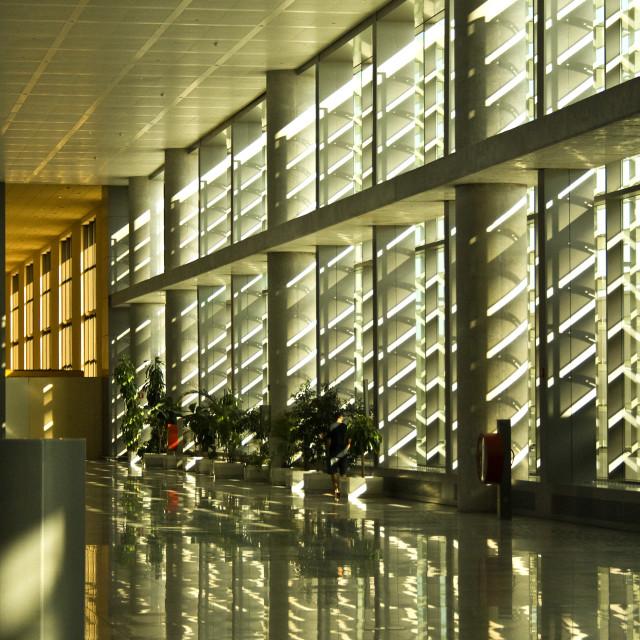 """Malaga Airport"" stock image"