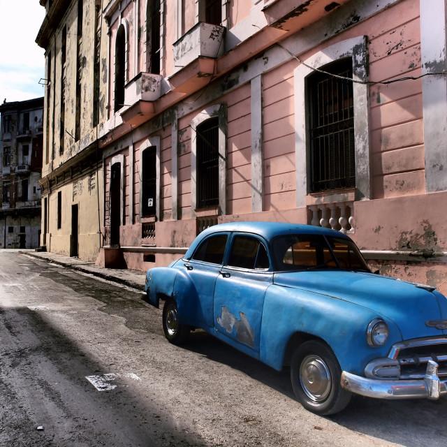 """'52 Chevy, Havana, Cuba"" stock image"