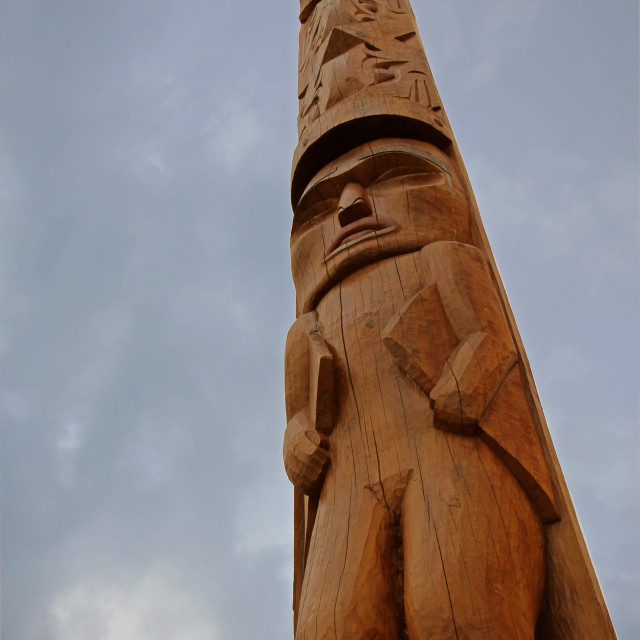 """Pacific totem"" stock image"