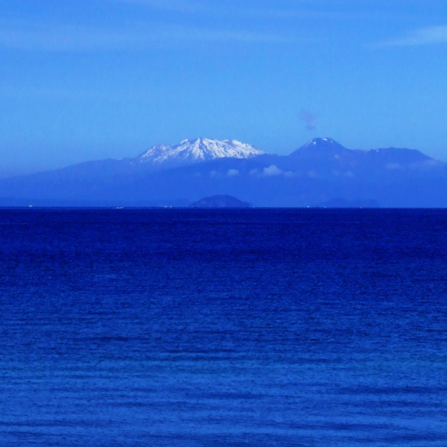 """Mt Ruapehu"" stock image"