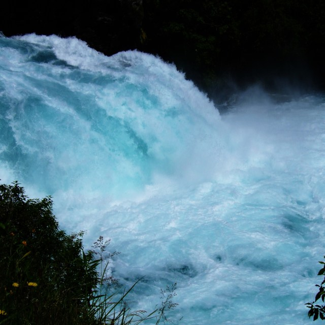 """Huka Falls"" stock image"