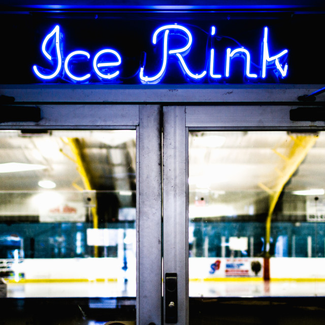 """Ice Rink"" stock image"