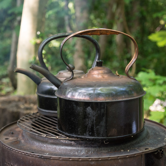 """""""Put The Kettle On"""" stock image"""