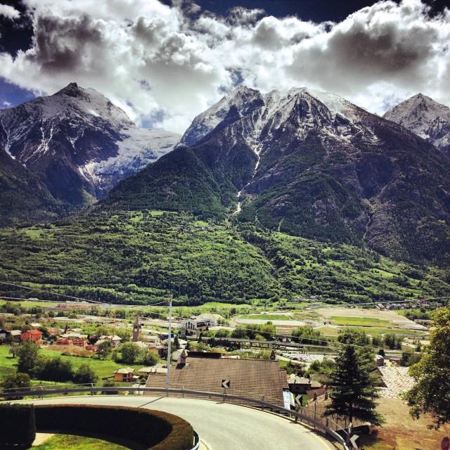 """Valle d'Aosta"" stock image"