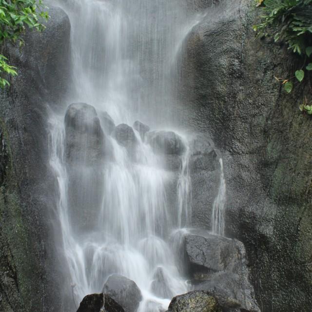 """Water Falls"" stock image"