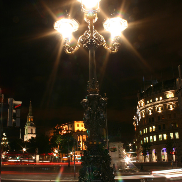 """Lamp Post"" stock image"