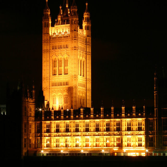 """Palace Of Westminster"" stock image"