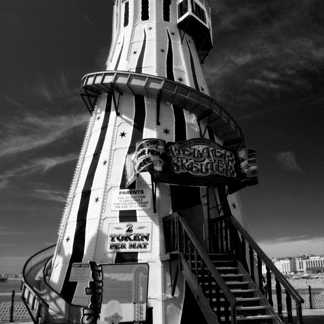 """Scary Skelter"" stock image"