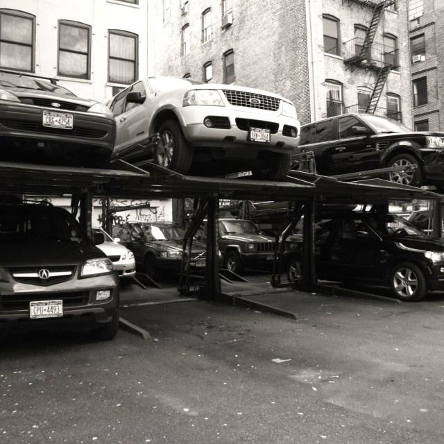 """""""Car Parking"""" stock image"""
