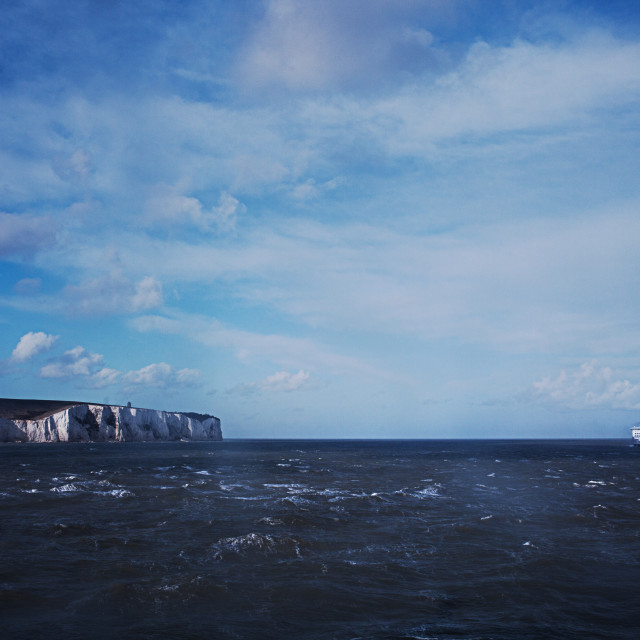 """Cliffs Of Dover"" stock image"