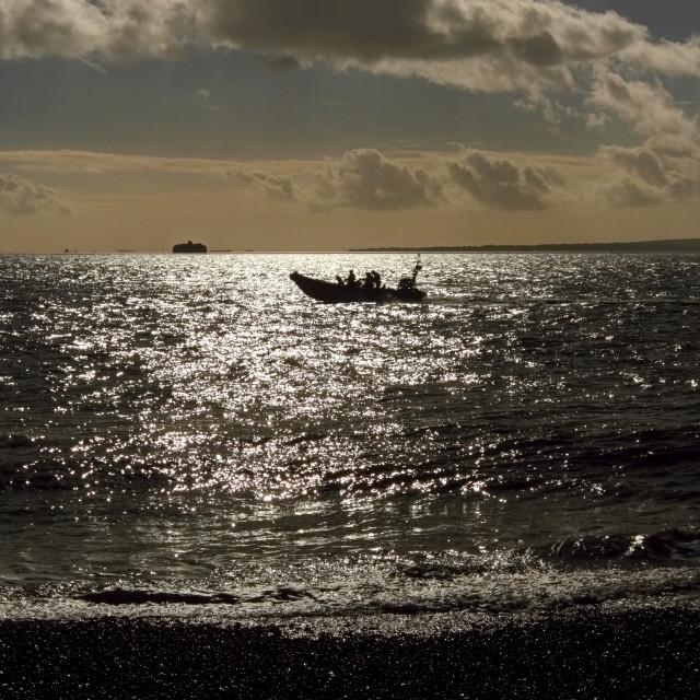 """""""in-shore rescue"""" stock image"""