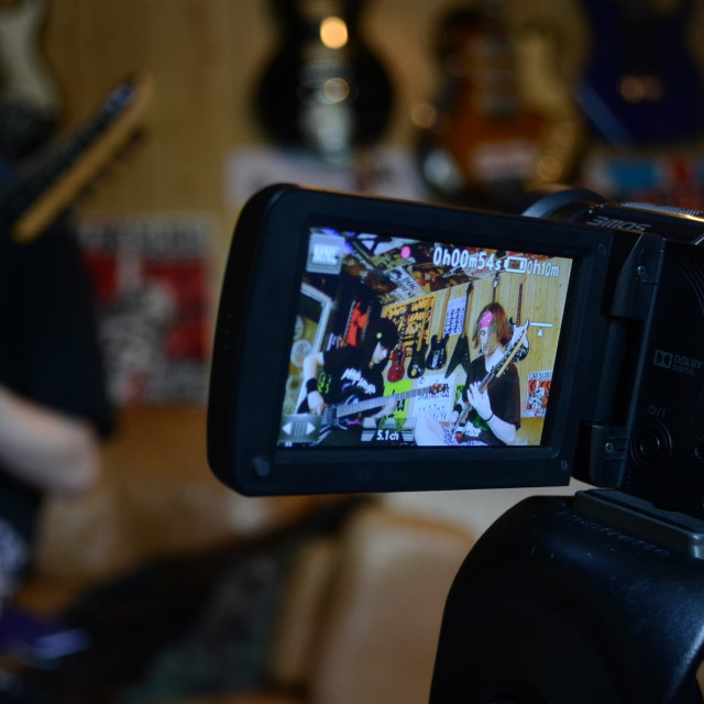 """Camera on Camera"" stock image"