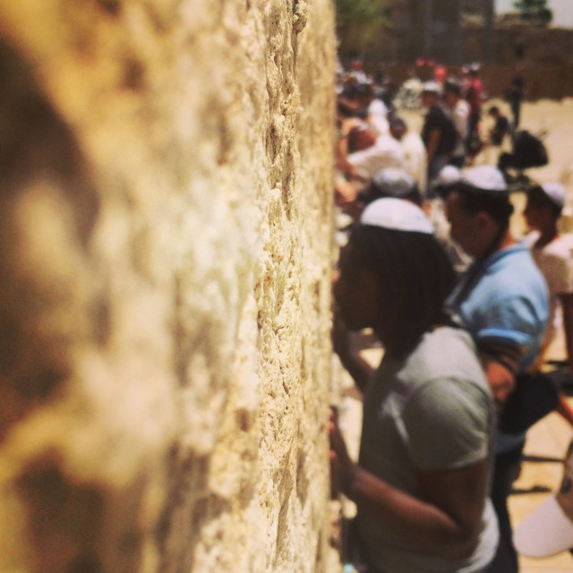 """Western Wall, Jerusalem"" stock image"