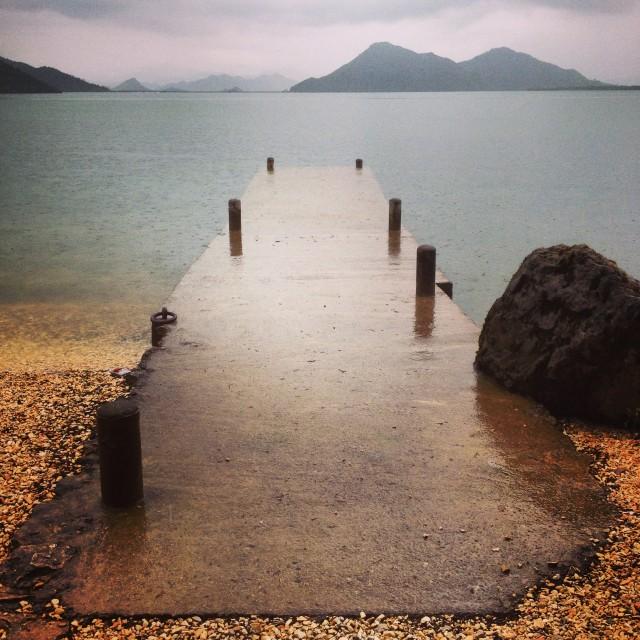 """Montenegro dock"" stock image"
