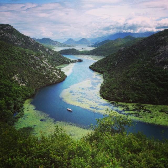 """Montenegro river"" stock image"