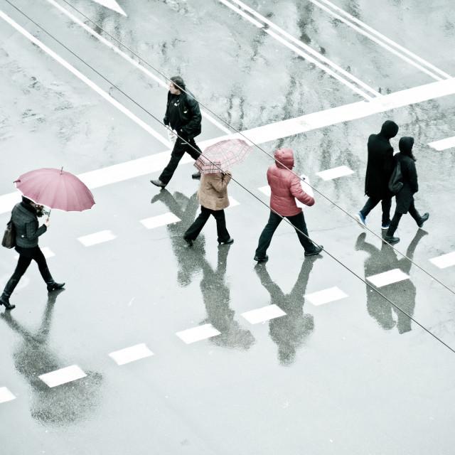 """Rainy Day"" stock image"